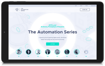 IOTA Automation Series website